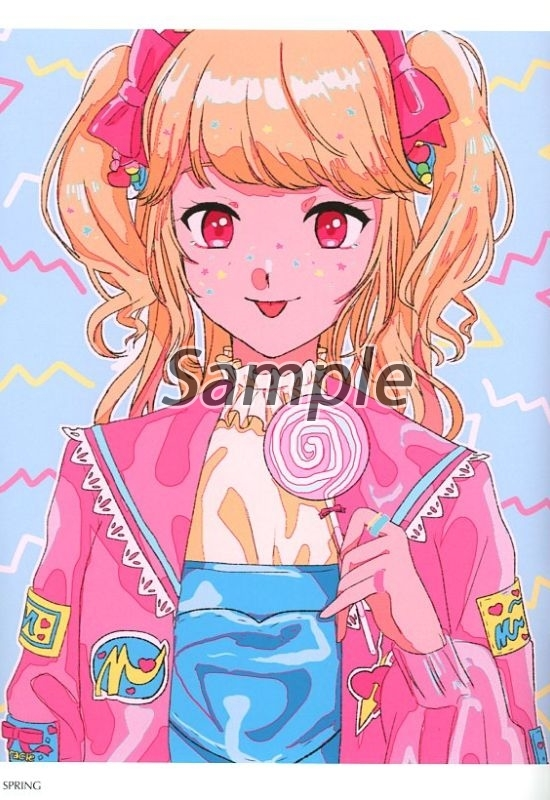 Doujinshi - Illustration book - Aikatsu Series (A LA MODE) / N & 姫咲れもん
