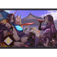 Doujinshi - Illustration book - Fate/Grand Order / Shuten Douji & Minamoto no Raikou (宴) / Lousun