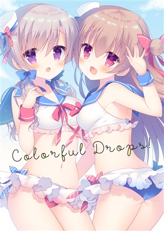Doujinshi - Illustration book - Colorful Drops! / against