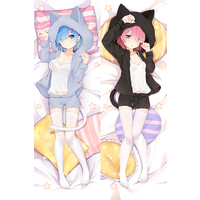 Dakimakura Cover - Re:Zero / Rem & Ram
