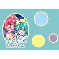 Doujinshi - Illustration book - PreCure Series (WAFFLE STAGE STAR TWINKLE EDITION) / ふわふわポムポム