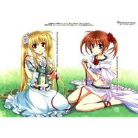 Card Stickers - Magical Girl Lyrical Nanoha / Nanoha & Fate