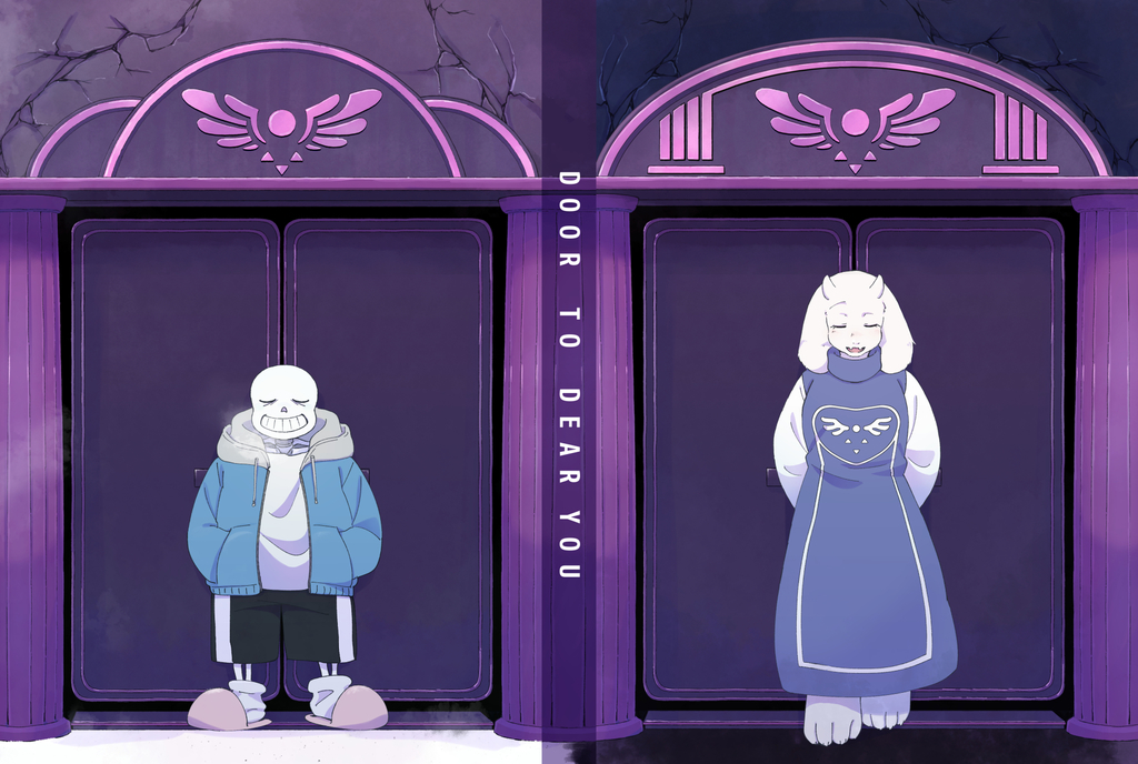 Doujinshi - Anthology - Undertale / Toriel & Sans (ドアトゥ・ディアユゥ DOOR TO DEAR YOU) / おやすみオルガン