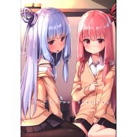 Doujinshi - VOCALOID (VOICEROID After school that day) / たけのこ。